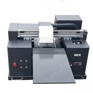 2017 хямд А4 хэмжээтэй ширээний таблет хэт намхан тэвштэй дижитал хэвлэгч WER - E1080UV хүргэсэн