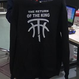 А2 футболк хэвлэгч WER - D4880T замаар хар цамц хэвлэх дээж