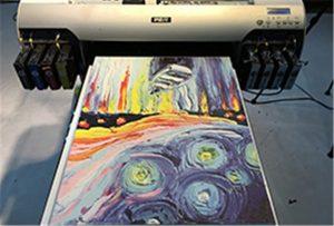 A2 хэт ягаан туяаны Printer WER-EH4880UV -ээс авсан дээжийг