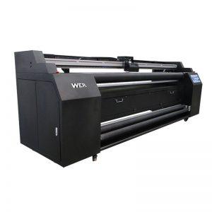 WER-E1802T 1.8m нь 2 * DX5 хуримтлалын хэвлэгчтэй нэхмэл хэвлэгч рүү чиглүүлнэ